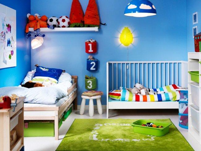 chambre de deux enfants