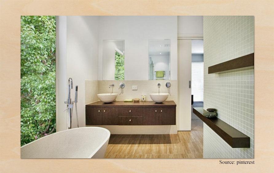 salle de bain feng shui