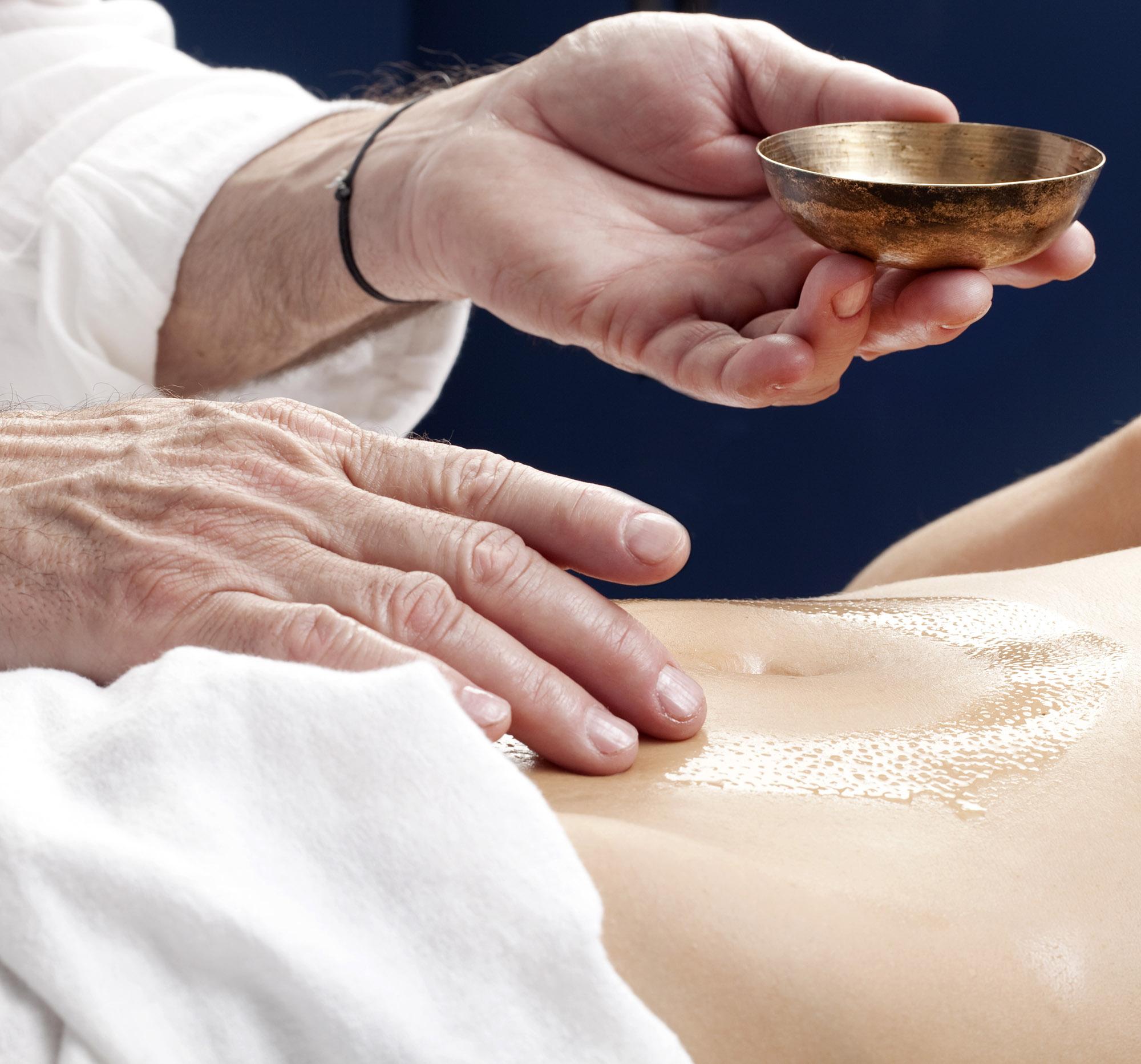 thérapie mandala massage du ventre